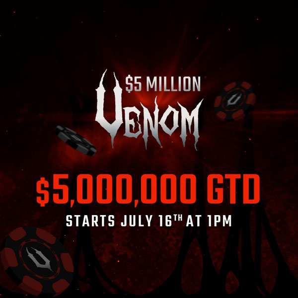 Americas Card Room $5 Million Dollar Venom Steps Tournament