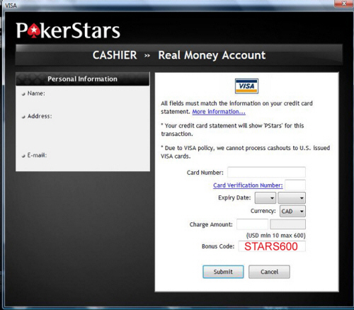 Pokerstars Starcode